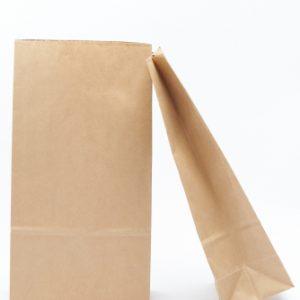 Natur papírzacskó lisztekhez 10db
