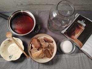 Kvász recept kovásszal – A kvász egy szuper módszer a maradék kovászos kenyér, és a kovász hasznosítására.