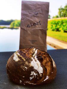 Mézes Rozsos kovászos kenyér recept